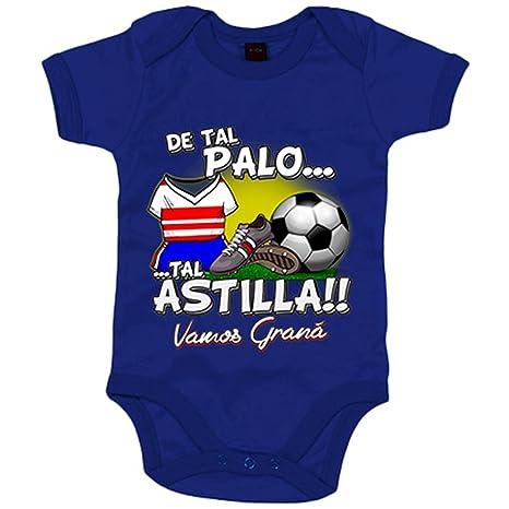 Body bebé De tal palo tal astilla Granada fútbol - Azul Royal, 6-12