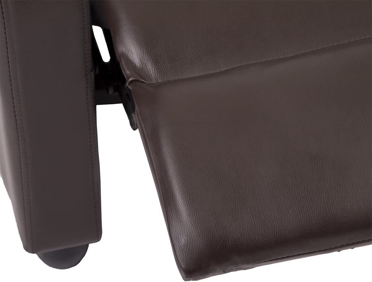 PayLessHere New Accent Chair Arm Chair Bonded Leather Single Recliner Chair Sofa