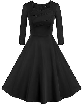 3 4 sleeve evening dresses on amazon