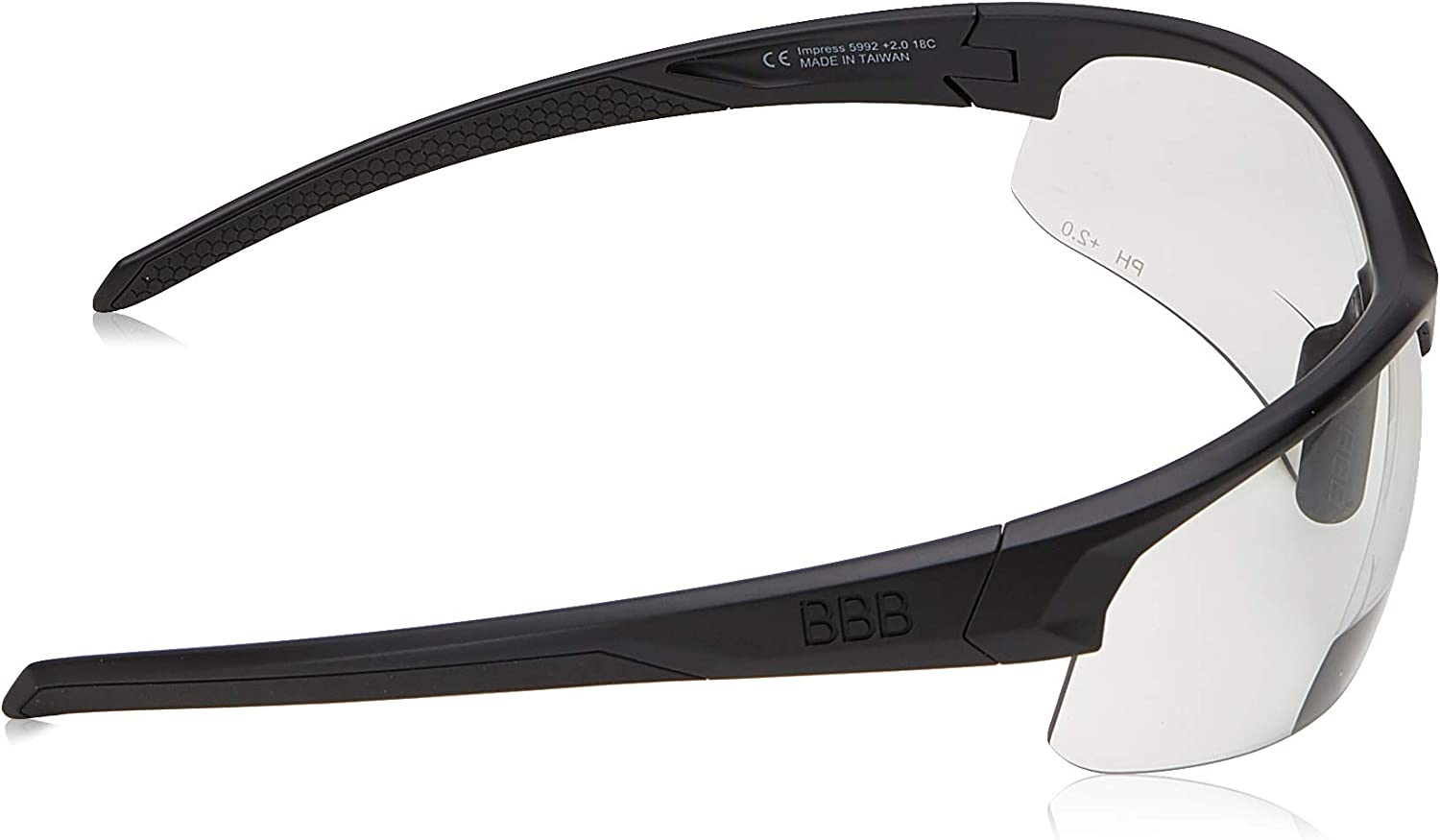 BBB rounder bsg-34 Bicycle Glasses White Color Code 3407