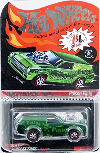 Hot Wheels Treat (Hot Wheels 2006 RLC sELECTIONs Series Poison Pinto 3/4 GREEN 1:64 Scale Collectible Die Cast Limited Edition Car from Redline)