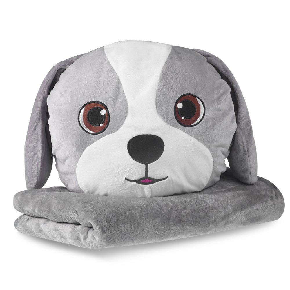 Nas Aostar Pillow Blanket Plush Stuffed Animal Toys Throw Pillow And