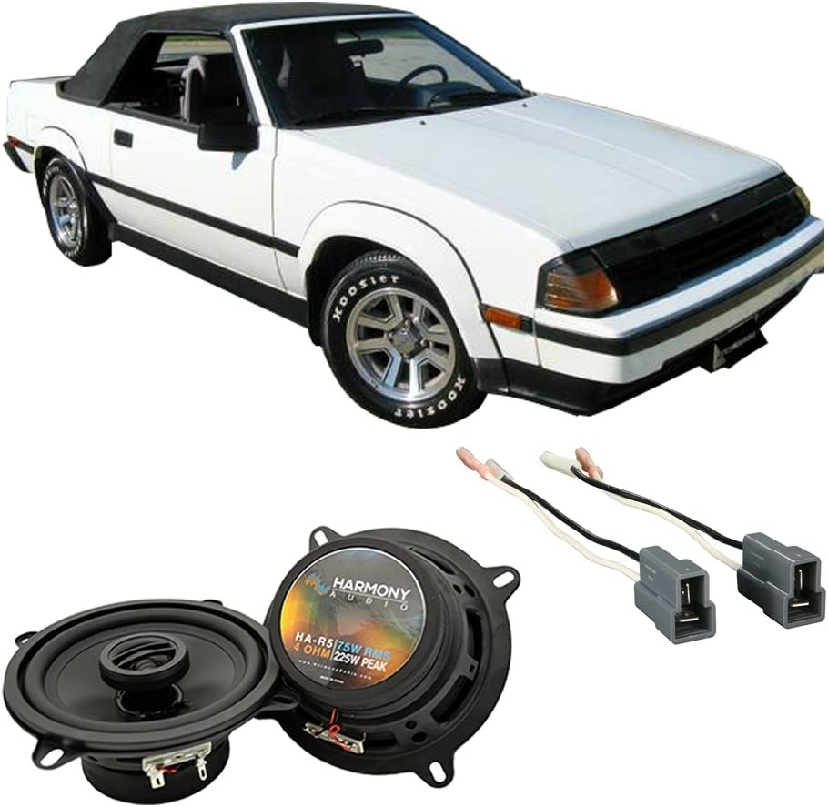 Fits Toyota Celica GT-S 1982-1985 Rear Panel Replacement Harmony HA-R5 Speakers