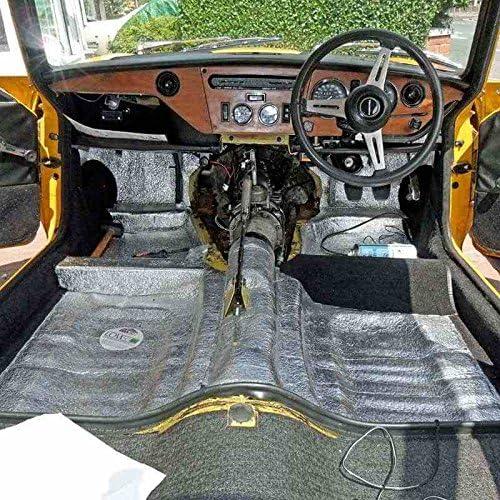 Car Insulation Mat 60 Sqft Thermal Sound Deadener Block Automotive Heat /& Sound