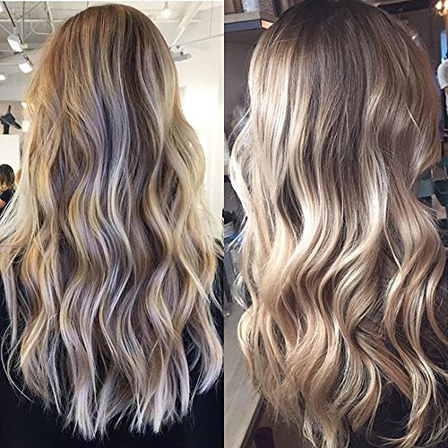 Full shine 50 warn reviewmeta full shine 20 zoll tape in hair extensions farbe 8 ash brown fading to 60 and 18 ash blonde from full shine pmusecretfo Gallery