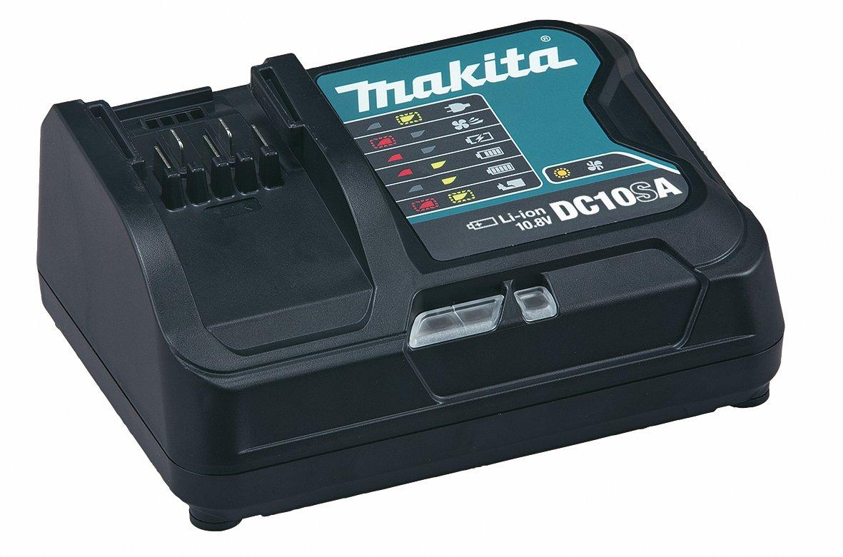 10,8/V, 4,0/Ah, en coffret MAKPAC avec 2/batteries et chargeur 10.8 voltsV JV101DY1J 0 wattsW Makita Scie sauteuse JV101DSMJ