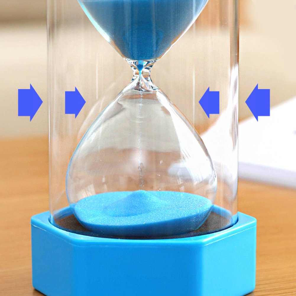 Red,1 Minute Cheap4uk Large 1//2//3//5//10//15//30mins Hourglass Sand Clock Timers for Kitchen Cooking Games Sports Teacher Autism Children Brush Teeth Countdown