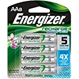 Energizer Power Plus NiMH AA Rechargeable Batteries, 8 Count