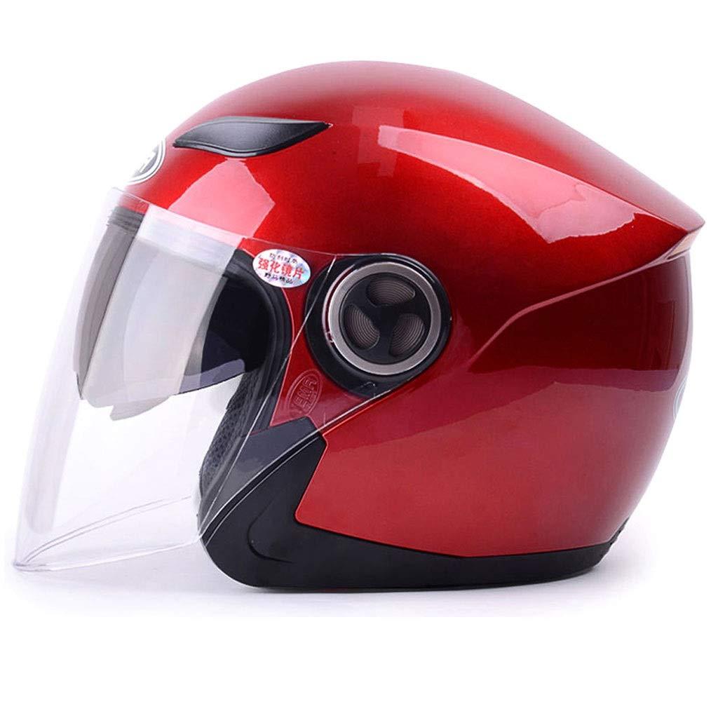 ZJJ Helm- Vollüberzogener Helm, Regen- und UV-Schutzhelm, DoppelobjektivB07NVKYBQ9Kinder- & JugendhelmeSorgfältig ausgewählte Materialien       Trendy