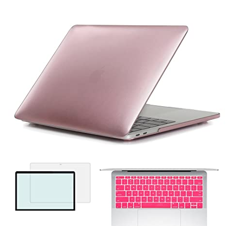 3 in 1 Soft-Touch Matte Case+Keyboard+LCD For Macbook Pro 13inch-2016 Released