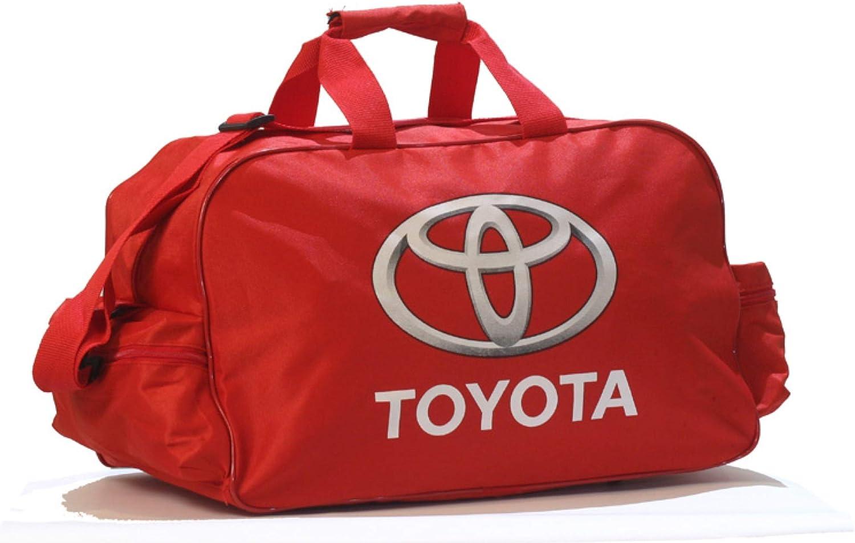 T-oyota Logo Duffle Travel Sport Gym Bag Backpack
