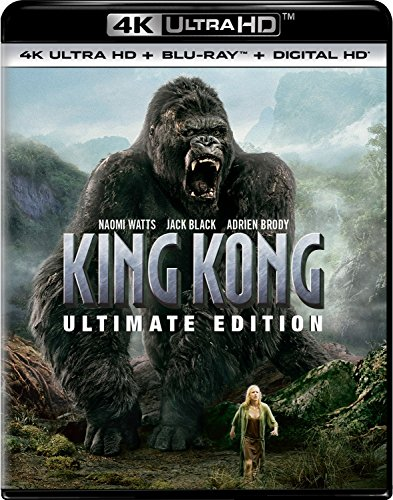 4K Blu-ray : King Kong (Ultimate Edition) (With Blu-Ray, Ultraviolet Digital Copy, Ultimate Edition, 4K Mastering, Digital Copy)