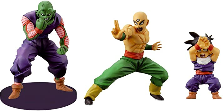 Dragon Ball - Pack 3 Figuras Set 3 : Piccolo + Kid Gohan + Ten ...