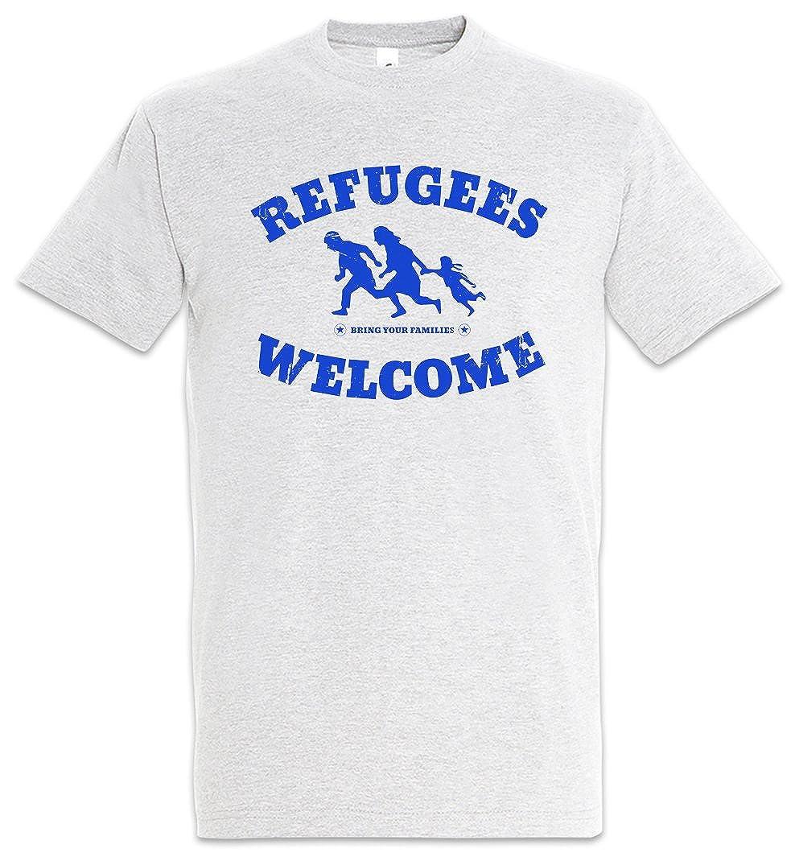 Welcome Demo Ii T Shirt Willkommen Flüchtlinge Pro Refugees Links EDH2IW9Y
