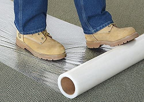 Carpet Protection Clear iPackBoxes Great for Protect 24 inch by 200 feet