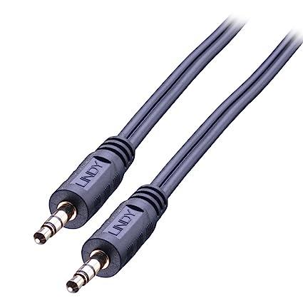 Lindy 35645 7.5m 3.5mm 3.5mm Negro Cable de Audio - Cables de Audio