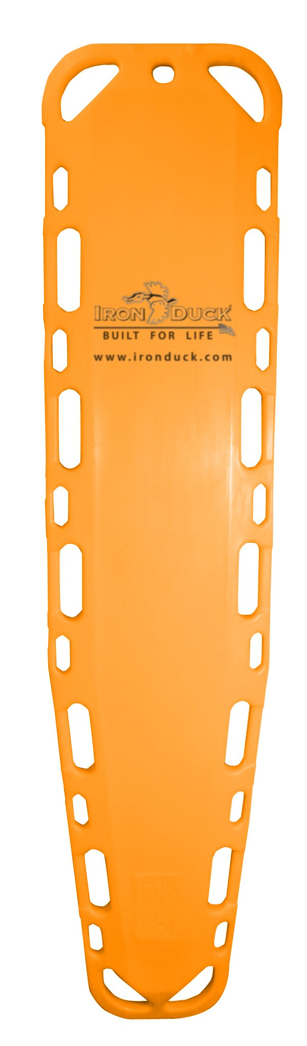 Iron Duck 35775-Orange Ultra Vue-16 Spinal Immobilization Backboard