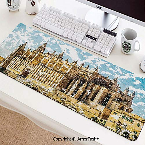 Amazon.com: Thick Printed Art Mousepad - Rubber Mouse Pad ...