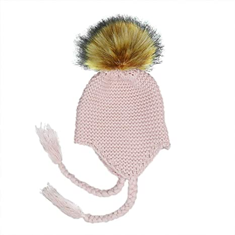 Milopon Bady Gorro Sombrero De Invierno Niño Niña Algodón Calientes  Stricken Esquí Caps Gorro para Bebé ca1a645f356