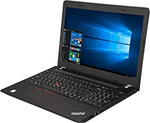 2018 New Lenovo ThinkPad E570 15.6 FHD IPS High Performance Business Notebook, Intel i5-7200U 2.5GHz up to 3.1GHz, 8GB DDR4, 256GB SSD, DVDRW, Bluetooth, USB 3.0, HDMI, Webcam, Windows 10 Professional