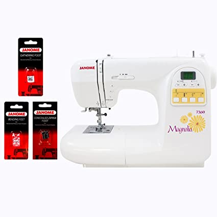 Amazon Janome 40 Magnolia Sewing Machine With Bonus Accessories Awesome Accessories For Janome Sewing Machine