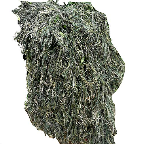 Chunlan Handmade Yarn Weave Camouflage Net 8090cm Jungle Camouflage Photography Camping Hide Landscape Decoration Sunshade