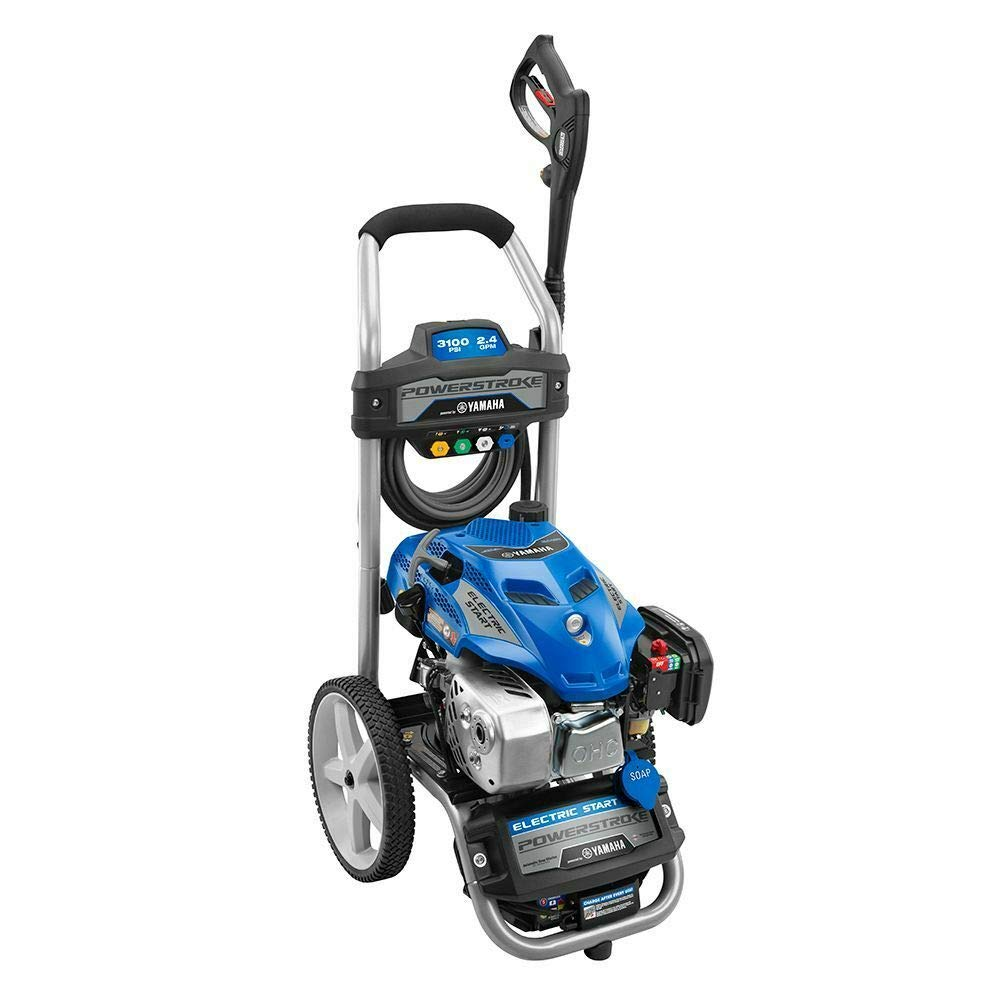 Yamaha Powered Electric Start 3100PSI Gas Pressure Washer