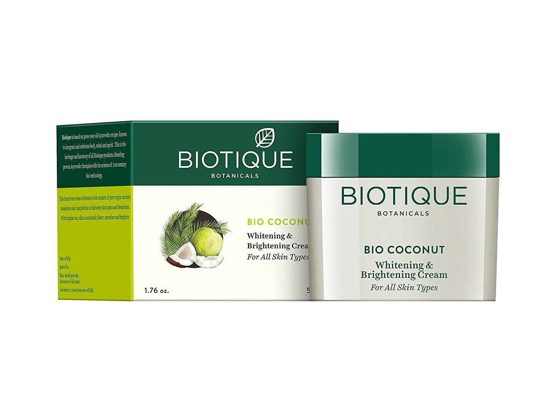 Biotique Coconut Milk Creme für Hautverfärbungen und Altersflecken 50 Gm AB-70609