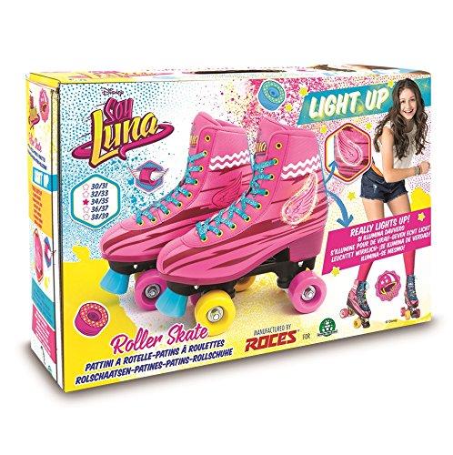 Soy Luna I Am Moon-Light Up Skates Roller Training 34/35