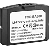 BA300 BA 300 Battery for Sennheiser IS410, RI 410, RI 830, RI 830-S, RI 900, SET 830, SET 830-TV, SET 840-S, SET 840-TV, SET 900 TV Headphones