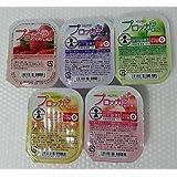 ニュートリー プロッカZn アソート5種類パック (いちご ・ ピーチ ・ オレンジ ・ 青りんご ・ グレープ) 77g ×各1個
