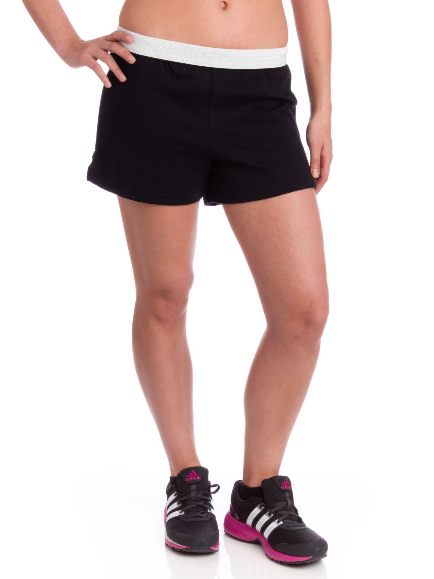 Soffe Juniors Athletic Short, Black, Large