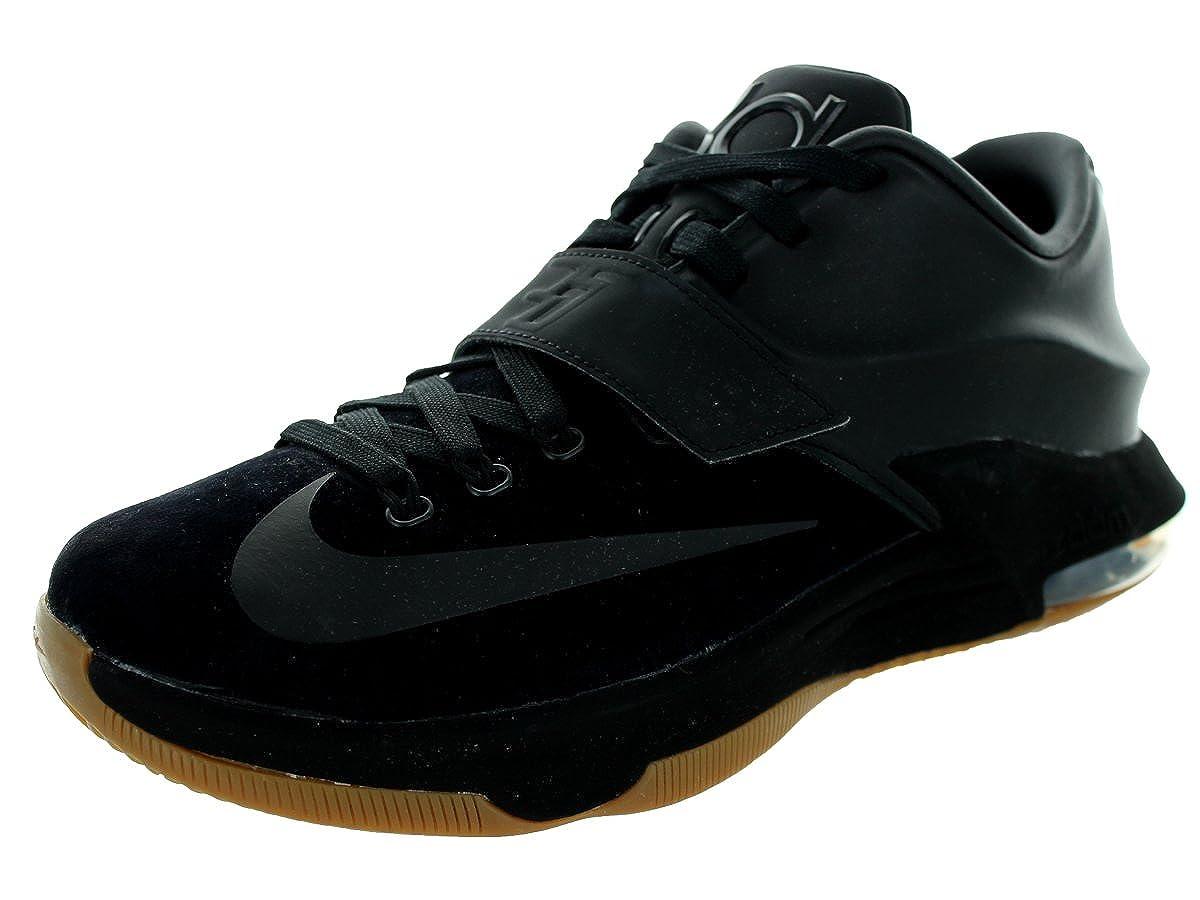 new arrival 4bf93 d12f0 Amazon.com   NIKE KD 7 VII EXT QS Suede Kevin Durant 717593-001 Black Gum  Bottom Men s Shoes (Size 7.5)   Shoes