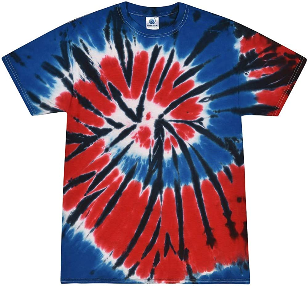 Colortone Youth & Adult Tie Dye T-Shirt