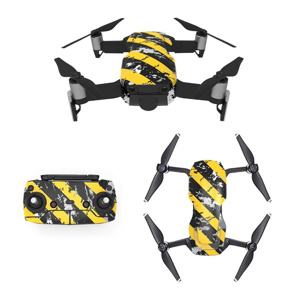 Hellery Stickers Autocollant D/écalque DIY pour Drone et Contr/ôleur DJI Mavic Air Style-1