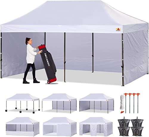 ABCCANOPY Canopy Tent Popup Canopy 10×20 Pop Up Canopies Commercial Tents Market stall
