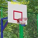 Gurxi-Sostituzione-Rete-Canestro-Basket-Sostituzione-Rete-da-Basket-Reti-Professionali-per-Canestro-da-Basket-Rosso-Bianco-Blu-Nylon-Resistente-per-Sport-Indoor-Allaperto