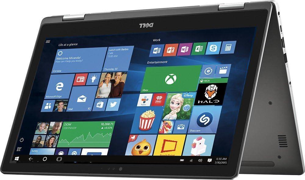 "Dell Inspiron 15.6"" 2-in-1 Full HD Touchscreen Convertible Laptop, Intel Core i5-6200U 2.3GHz, 8GB RAM, 256GB SSD, Backlit Keyboard, Webcam, WIFI, HDMI, Windows 10"