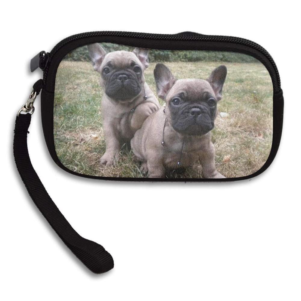 100 Polyester Mini Coin Purse French Bulldog Pups At Amazon