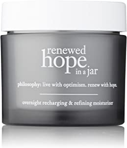Philosophy Renewed Hope In A Jar Overnight Recharging & Refining Moisturizer for Unisex, 2 Ounce