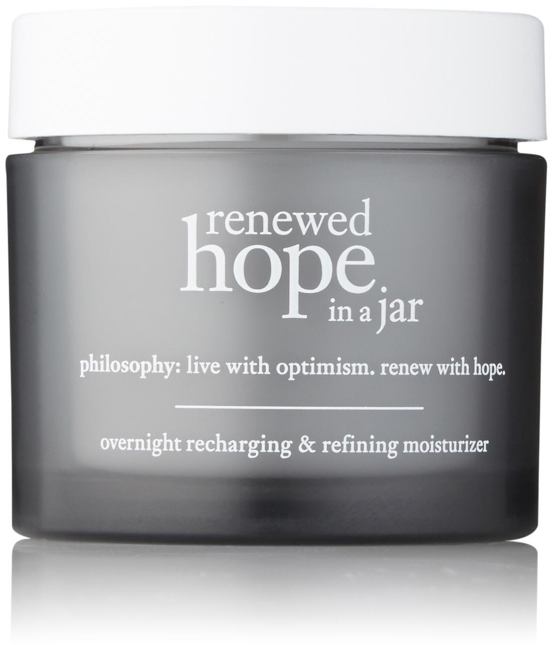 Philosophy Renewed Hope In A Jar Overnight Recharging & Refining Moisturizer for Unisex, 2 Ounce by Philosophy
