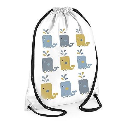 Ballena bolsas de impresión bolsa de natación, niños ...