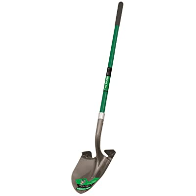 Truper 32402 Tru Tough 47-Inch Round Point Shovel with Long Handle and 10-Inch Grip : Garden & Outdoor
