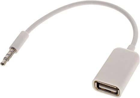 Smartfox Autoradio Adapter 3 5mm Klinkenstecker Aux Audio Auf Usb Buchse 2 0 Elektronik