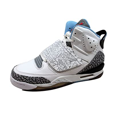info for ddb1c 4de3d ... clearance nike grade school air jordan son of mars white prism blue  wolf grey dba81 9475c