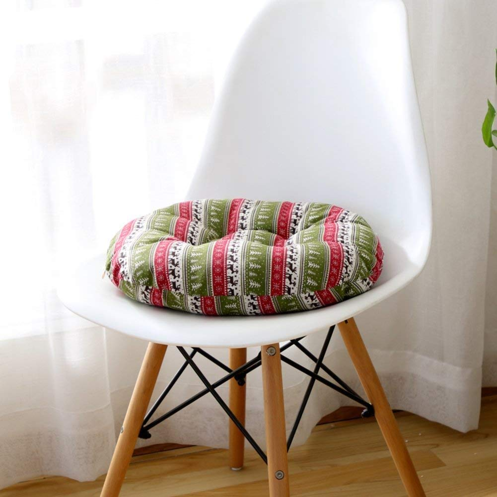 HhGold Almohadilla Engrosada, Cojines [Piso] Tatami Cojín Redondo [Piso] Cojines Cojín Transpirable de Colorido sofá de 43X43 cm (17 x 17 Pulgadas) (Color : -, tamaño : -) cb5b26