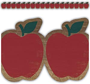 Teacher Created Resources Home Sweet Classroom Apples Die-Cut Border Trim