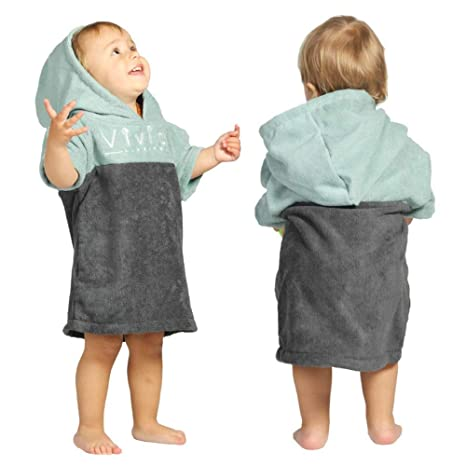 Snug Swimming Warm Splash About Baby Hooded Towel Bath