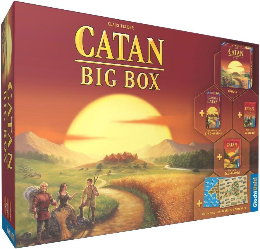 Giochi Uniti gu545 – Catan Big Box: Amazon.es: Juguetes y juegos