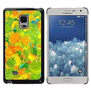 Exotic-Star ( Fruit Macro Pattern Texture ) Fundas Cover Cubre Hard Case Cover para Samsung Galaxy Mega 5.8 / i9150 / i9152